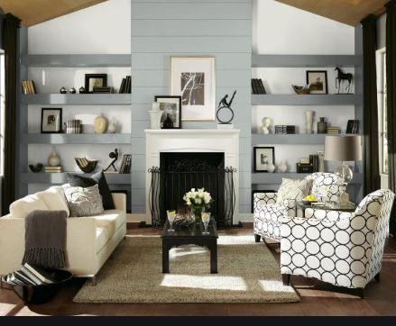Peaceful Living Room